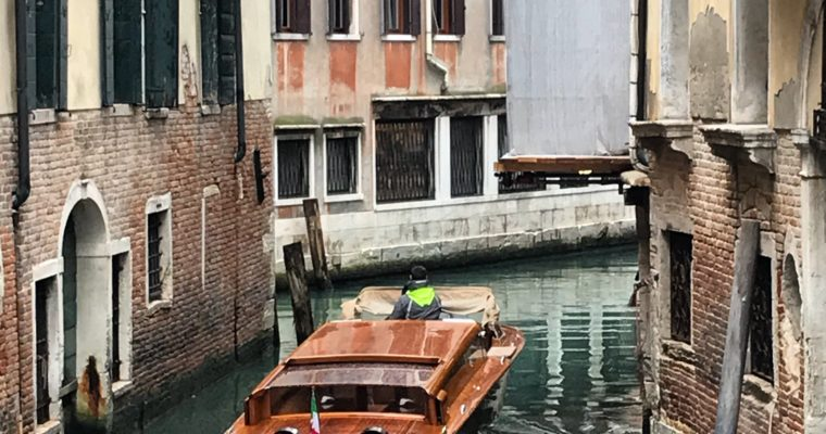 Birthday in Venice